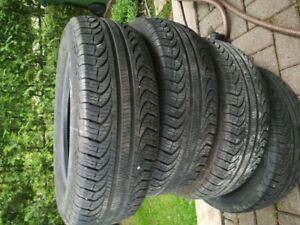4 seasons tires - almost new !
