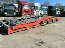 2007 RALFO TRI AXLE DRAWBAR TRAILER, BUILT TO CARRY 2 6X2 TRACTOR UNITS