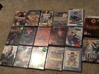 Joblot of 17 games various consoles