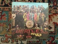PMC 7027 the Beatles sgt peppers lonely hearts club band 1967 LP sleeves cut out NM