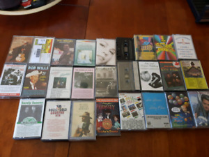 Lot of 26 cassettes lots of different genres