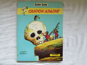 Lucky Luke – Canyon Apache