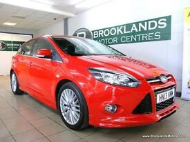 Ford Focus 1.0 ECOBOOST ZETEC S 125PS [5X SERVICES, 30 ROAD TAX and DAB RADIO]