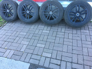 255/55 R18, 4 SNOW LION TRIANGLE tires with MAGS,thread#11/32