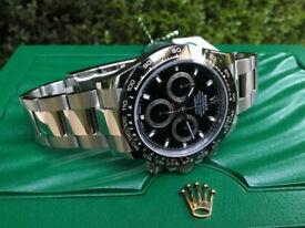 Veritable ETA Genuine Movement Swiss Pro Swiss Rolex Watches