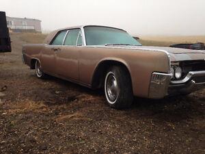 2- 1961 Lincoln Continentals