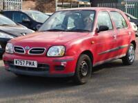 2000 Nissan Micra 1.4 16v SE CVT 5dr Hatchback Petrol Automatic