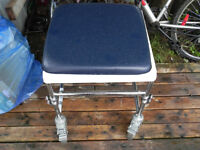 Commode Chair on lockable wheels
