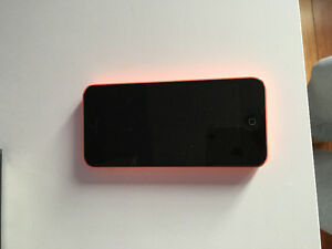 Pink IPhone 5c with TNA case