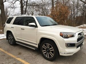 2016 Toyota 4Runner Limited with Redwood Leather