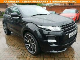 image for 2014 64 LAND ROVER RANGE ROVER EVOQUE 2.2 SD4 PURE TECH 5D 190 BHP DIESEL