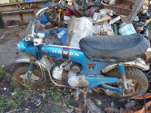 HONDA 70 TRAIL BIKE