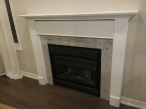 Full Surround Fireplace Mantle
