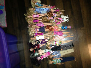 Barbies and Doll lot