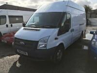 FORD TRANSIT 350 H-R, White, Manual, Diesel, 2013 13 67000 miles