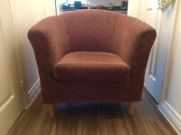 Brown Tub Chair
