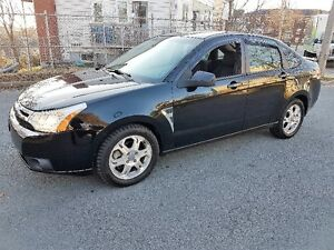 2008 Ford Focus SES Sedan, Auto, Air, Cruise, Valid MVI