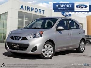 2015 Nissan Micra SV Hatchback with only 23,183 kms