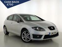 2012 SEAT LEON 2.0 TDI CR 140 FR Parksensors 1 Owner Cruise Climate Zone