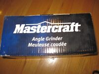 BRAND NEW 7A MASTERCRAFT ANGLE GRINDER 4.5 INCHES