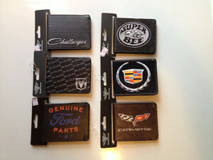 Dodge, Ford, Camaro, Challenger, Cadillac, Honda Wallets
