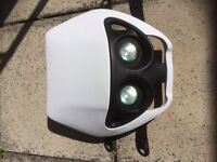 Motorcycle front lights