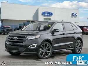 2018 Ford Edge Sport  w/Leather, Moonroof, Nav, and More!
