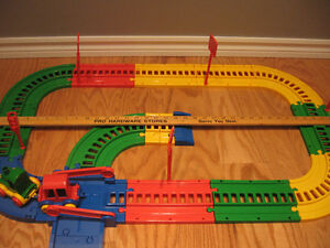 Wader Toys Train Set (Made in Germany).   As displayed.