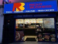 CHICKEN & PIZZA TAKEAWAY IN ROMFORD , REF: RB284