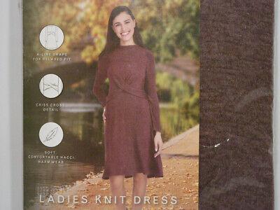 Classic dress, A-line silhouette, long sleeves and flattering criss-cross waist. Flattering A-line Dress