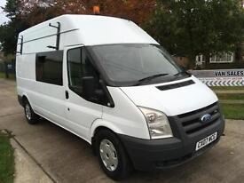 Ford Transit T350 Lwb Van / Welfare / Messing Unit / Mobile Office / Camper.