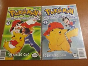 POKEMON The Electric Tale of Pikachu 1-2-3-4 MINT