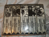 "10 FULL COLLECTION VHS OF ""THE WESTERN"""