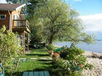 Home & Cottage on Lake Nipissing in the City (with beach)