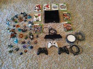 Xbox 360 BUNDLE ! Kinect/Games/skylanders