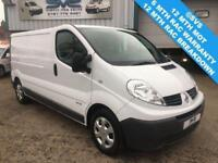 2013 63 RENAULT TRAFIC 2.0 LWB LL29 6 SPEED 115BHP VERY CLEAN VAN CHOICE OF 8