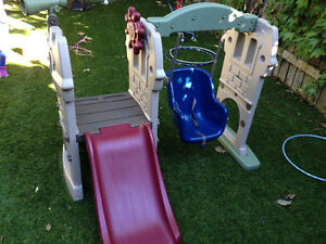 Little Tikes Swing and Climber
