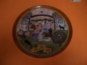 RETURN INTO GALILEE COLLECTOR PLATE COMPLETE WITH BOX AND COA