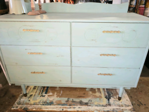 FREE HRM DELIVERY- PAINTED GREEN SIDEBOARD OR DRESSER