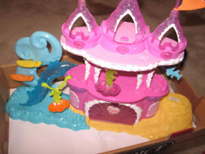 My Little Pony Castle, Carriage, Balloon, and more