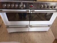 Stoves dual fuel cooker (gas top, electric ovens)