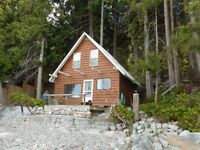 Powell River Waterfront Cabin