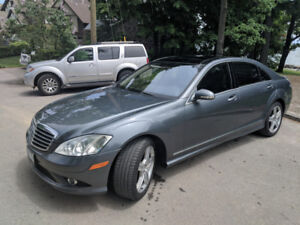 2007 Mercedes Benz s550, AMG package