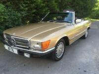 VERY RARE CLASSIC 1980 MERCEDES 450 SL ROASDTER AUTOMATIC CONVERTBILE