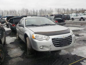 2006 Chrysler Sebring Now Available At Kenny U-Pull Cornwall