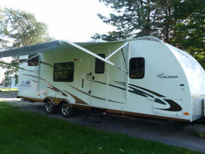 Well Cared For 29'BHS Coachman Freedom Express Travel Trailer