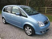 Vauxhall meriva 1.6 Petrol 2007 new mot debit/credit cards accepted