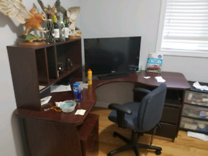 Corner desk paid over 1500