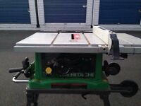 10 inch hitachi portable table saw