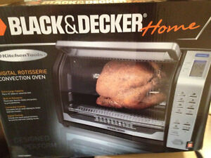 Black and Decker  digital Rotisserie convection oven